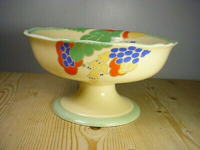 """Royal Doulton Art Deco """"Caprice"""" Footed Bowl"""