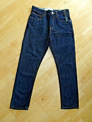 NEXT boys dark blue denim regular fit jeans AGE 11 YEARS BNWT NEW