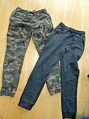 PRIMARK boys 2 PACK joggers cargo jog jeans AGE 11 - 12 YEARS EXCELLENT