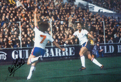 HAND SIGNED 12x8 PHOTO : ENGLAND 1978 KEVIN KEEGAN