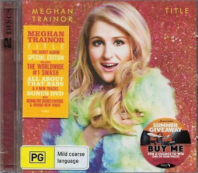 Meghan Trainor - Title (2015 Special Edition CD & DVD) New & Sealed