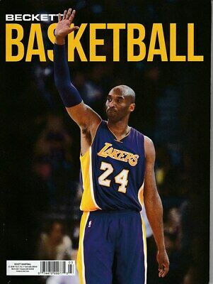 March 2020 Basketball Beckett Monthly Price Guide Vol 31 No 3 Kobe Bryant Lakers