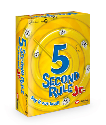 5 Second Rule Jr Card Game New