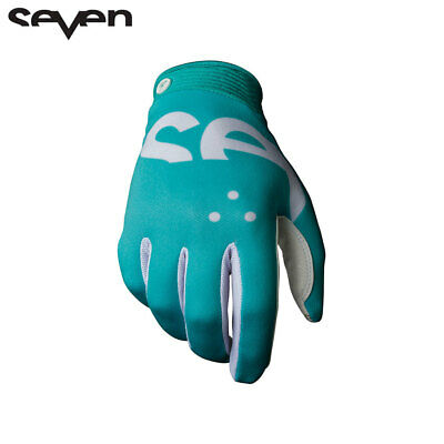 Seven MX 20.1 Zero Crossover Adult Motocross Gloves (Aqua) MX NEW!