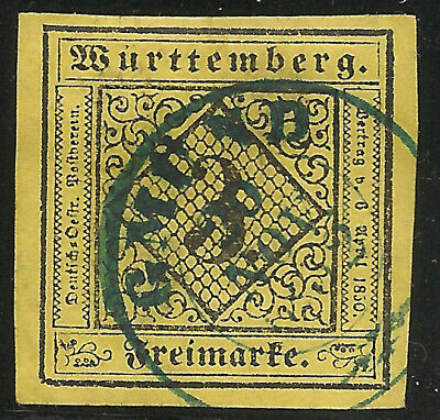 Wurttemberg Scott    2   Used (Four Nice Margins)