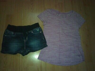 Justice 2 Piece Girls Outfit Size 8 & 8 Slim