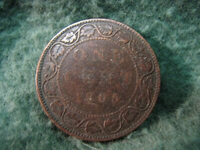 1905  Canada  One Cent Coin  Gorgeous Large Cent Penny