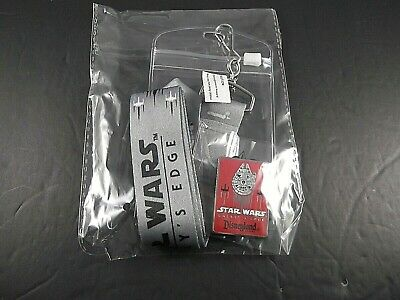 Disneyland Star Wars Galaxy's Edge Lanyard and Pin Exclusive NEW in package! EXC
