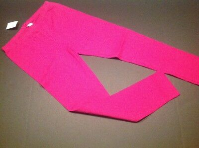 NEW Childrens Place Girls Size Large 10/12 Raspberry Purple Leggings NWT