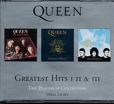 QUEEN - The Platinum Collection (Greatest Hits 1, 2 & 3) - 3xCD Album *Best Of*