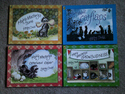 Hairy Maclary Books By Lynley Dodd 4 X Paperbacks In Vgc Free Postage
