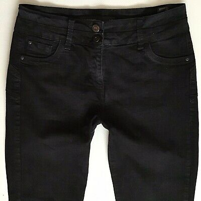 Ladies Next Lift Slim & Shape Bootcut faded Black Jeans Size 14 R W32 L30 (388)