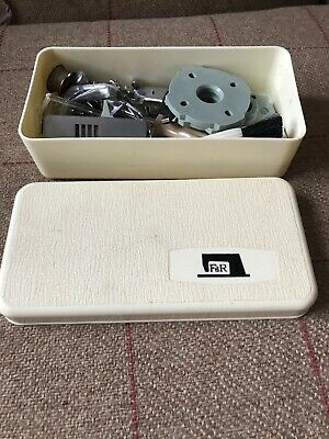 Vintage Frister Rossmann Sewing Machine Accessory Box & Contents Presser Foot