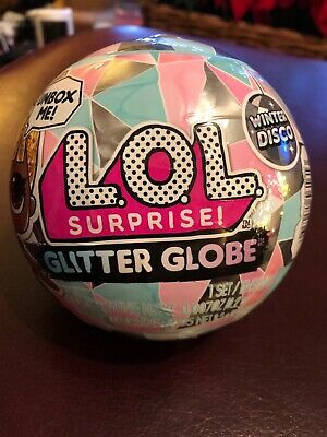 LOL Surprise Winter Disco Glitter Globe WIth 8+ Surprises
