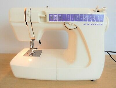 Janome 555 Lightweight Sewing Machine, In Good Condition