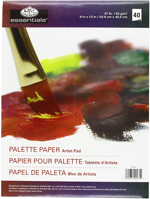 Royal & Langnickel Acrylic and Oil Disposable Standard Artist Pad