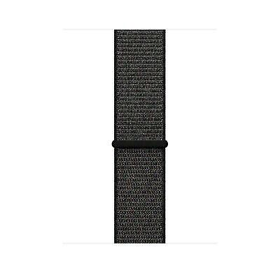 Genuine Apple Watch Sport Loop Strap Band 42mm/ 44mm - MQW72ZM/A - Black - New