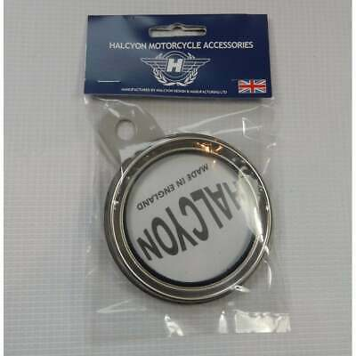 Genuine Halcyon Tax Disc Holder Silver / Grey Made in England
