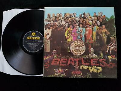 THE BEATLES Sgt. Peppers LP UK  1st Press STEREO Parlophone PCS 7027 EX+