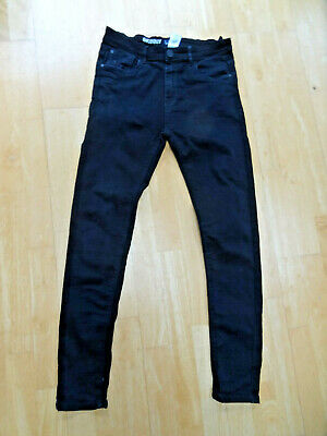 NEXT boys black skinny leg jeans AGE 14 YEARS EXCELLENT CONDITION
