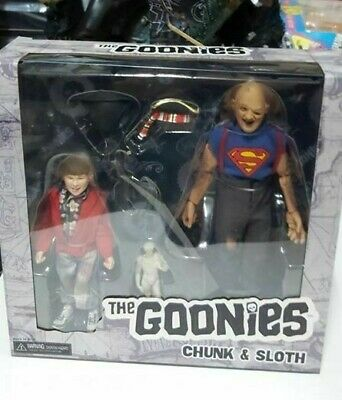NECA The Goonies: Sloth and Chunk 8 inch Clothed 2-Pack DISPONIBILI