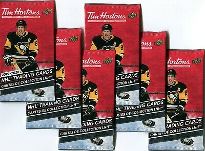 2019-20 Tim Hortons UD Hockey 6 Unopened packs!! Relics? SP1? Duos?