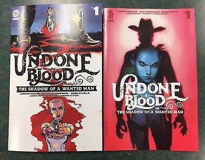 Undone By Blood #1 : Variant Cover Set : Aftershock Comics 2020 : 1:15 Robinson