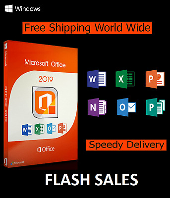 Microsoft Office Professional Plus 2019 License Lifetime Activation 3 s delivery