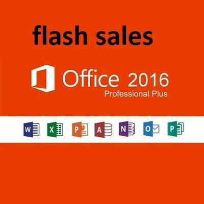 Microsoft Office Professional Plus 2016 License Lifetime Activation 5 S Delivery