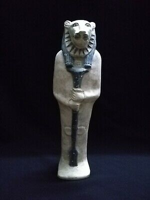 Ancient Egyptian Antiquities Origin Statue of God Sekhmet  (1390–1352 B.C.E)