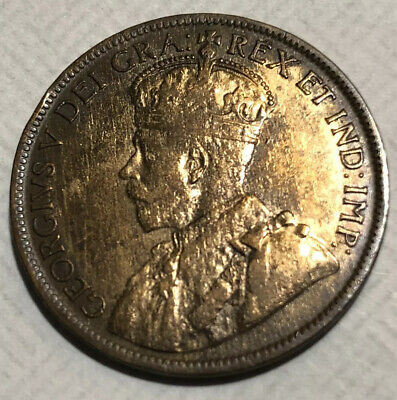 1916 Canada Large Cent World Coin Lots
