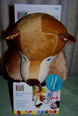 Eric Carle 2-in-1 Bear Backpack Harness New
