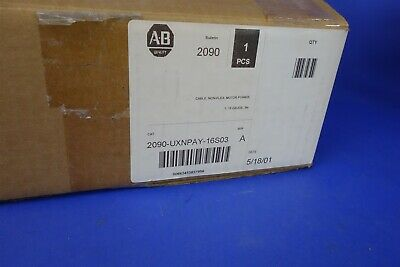 Allen Bradley AB 2090-UXNPAY-16S03 - NEW CABLE TL Kinetix Ultra3000 Motor Cable