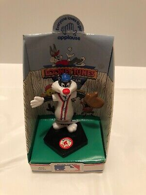 Blue no tag Looney Tunes; Applause  sun damage Sylvester Sipper Spoon