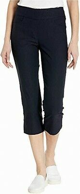 Tribal Womens Pants Ink Blue Size 14P Petite Capris Cropped Stretch $58- 734