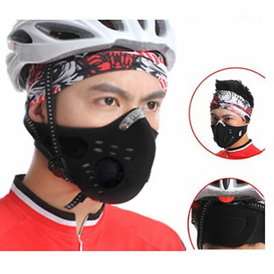 Anti-dust Mouth Mask Activated Anti-Pollution Breathable Outdoor Sport US FAST