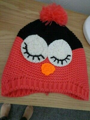 girls owl hat great to help you keep warm this winter L@@K sleeping owl