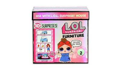 LOL Surprise Furniture Road Trip with Can Do Baby Stickers And Accessories _UK