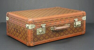 Very Special Vintage Aux Etats Unis Travel Suitcase Immaculate