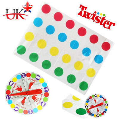 Funny Twister The Classic Game Body Game + 2 More Moves Family Party Games HOT!