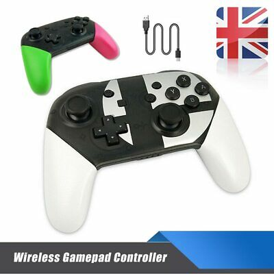 Wireless Bluetooth Pro Controller Gamepad For Switch Super Smash Stablely Bros