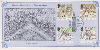 Gb Stamps First Day Cover 1991 Maps Westminster 112/154 Rares Collection