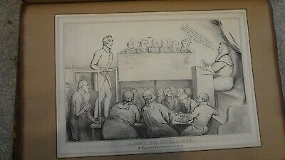 C1830'S Political Sketches. H.b. John Doyle ' Hint To Duellists'