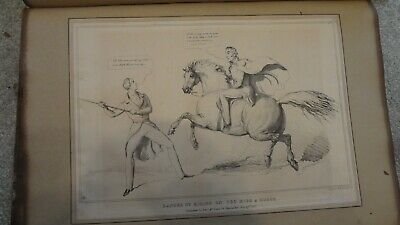 C1830'S Political Sketches. H.b. John Doyle 'Danger Of Riding