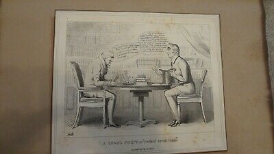 C1830'S Political Sketches. H.b. John Doyle 'A Legal Point