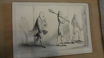 C1830'S Political Sketches. H.b. John Doyle 'The Speaker'