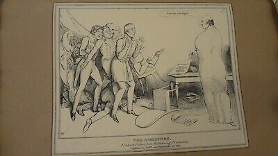 C1830'S Political Satire Sketches. H.b. John Doyle 'The Apparition'  Thos Mclean