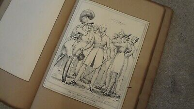 C1830'S Political Sketches. H.b. John Doyle 'The Goat Wot Lost His Beard