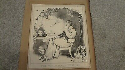 C 1830'S H .B. Political Sketches. 'The Winchelsea Hermit' Pub By Thomas Mclean