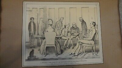 C1830'S Political Sketches. H.b. John Doyle 'A Small Tea Party .